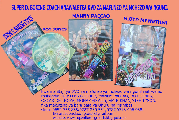 DVD ZA SUPER D BOXING COACH ZILIZOPO SOKONI