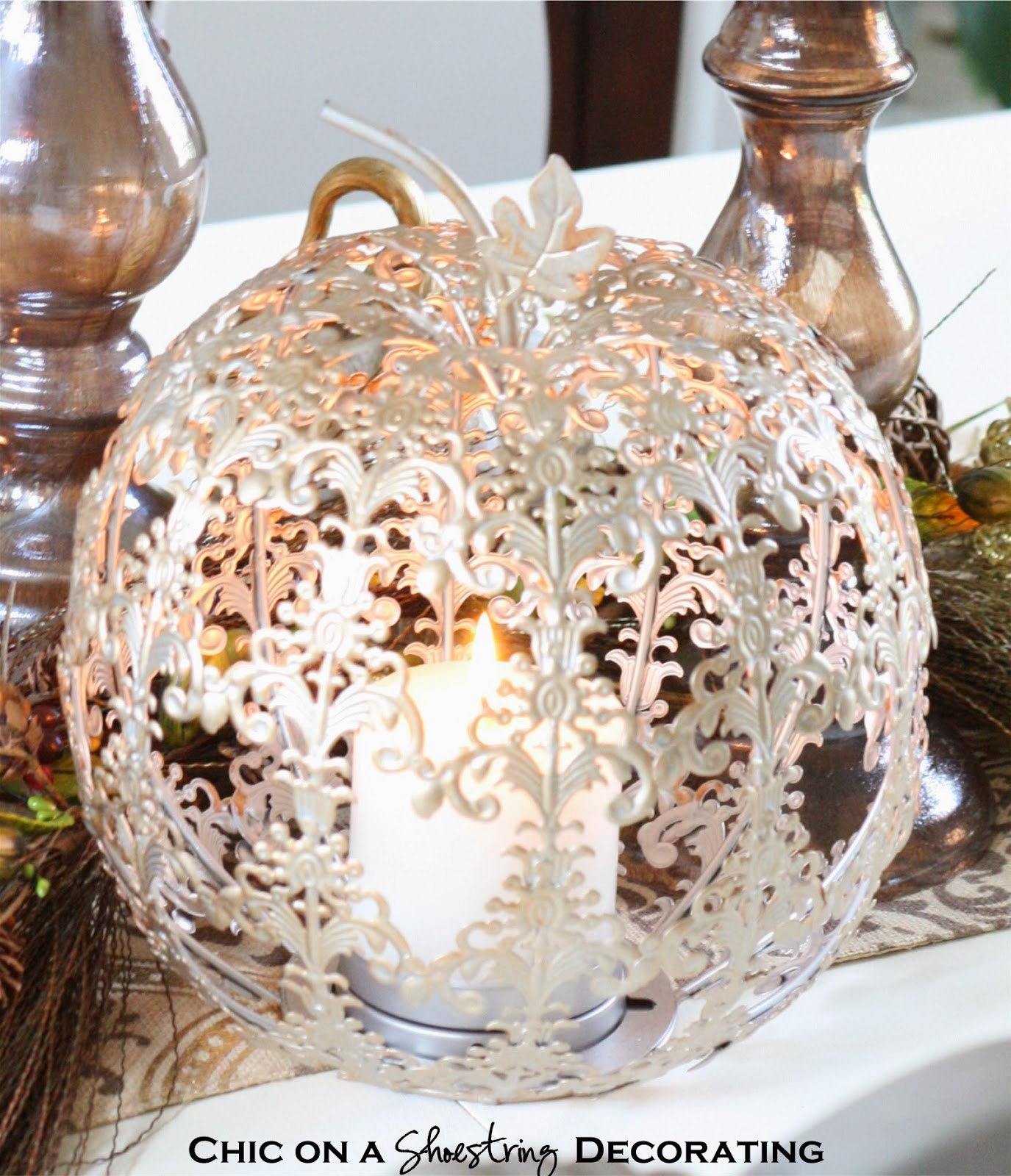 Fall Centerpiece and Pier 1 Gift Card Giveaway! , Home Decor