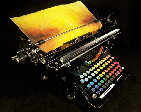 The Chromatic Typewriter by Tyree Callahan