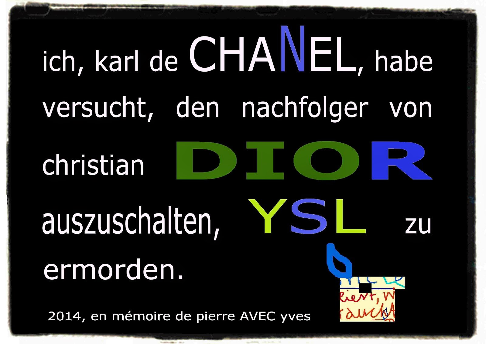 yves saint-laurent YSL christian DIOR succession karl lagerfeld CHANEL quote gérard depardieu PARIS