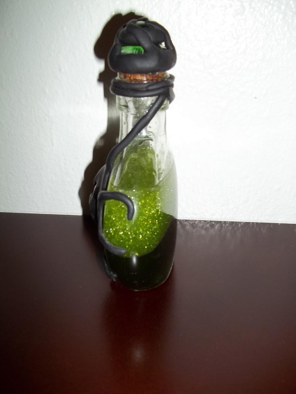 She Creates Stuff Green Gem Potion Bottle