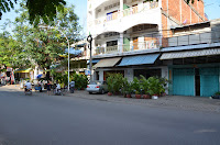 Former brothels, Street 63, Phnom Penh, Cambodia