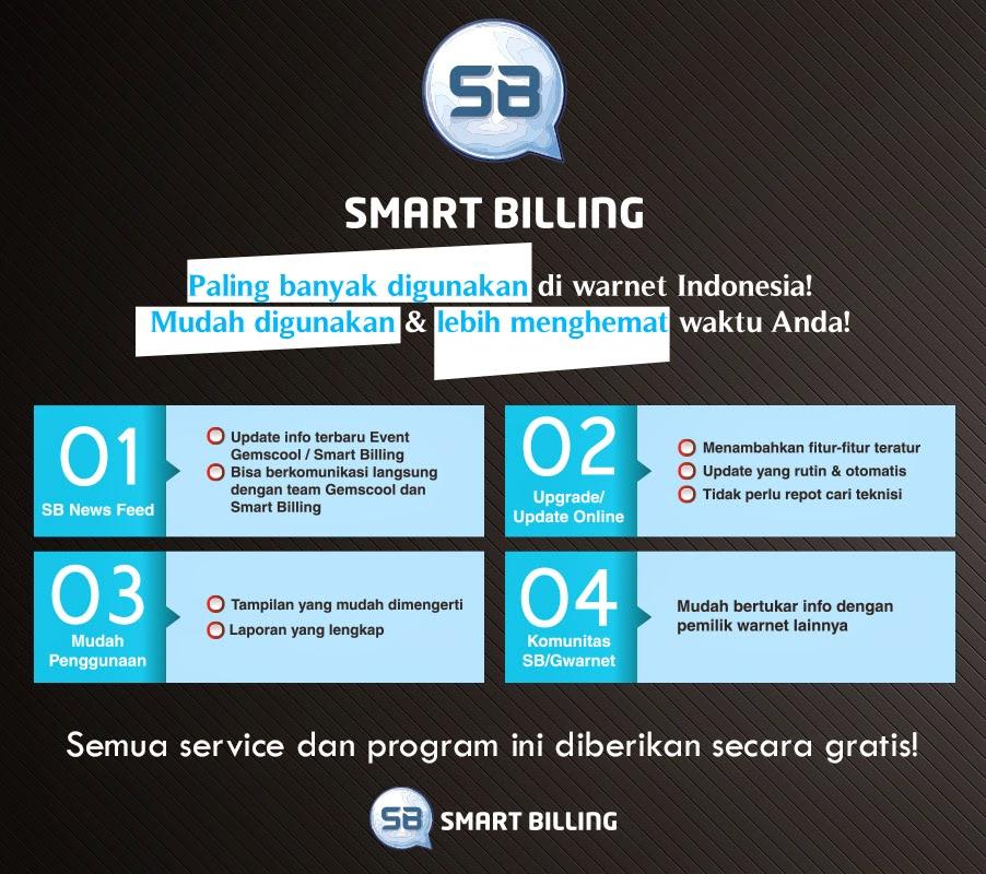 Cara Bobol Smart Billing - Billing Gratis G-Warnet PT. Taiga