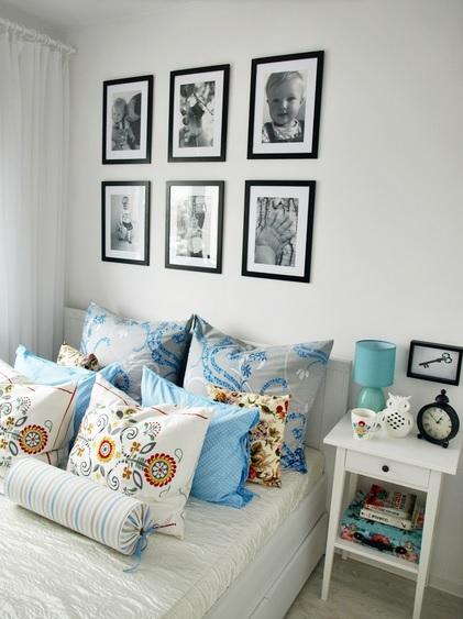 sypialnia malowanie mebli
