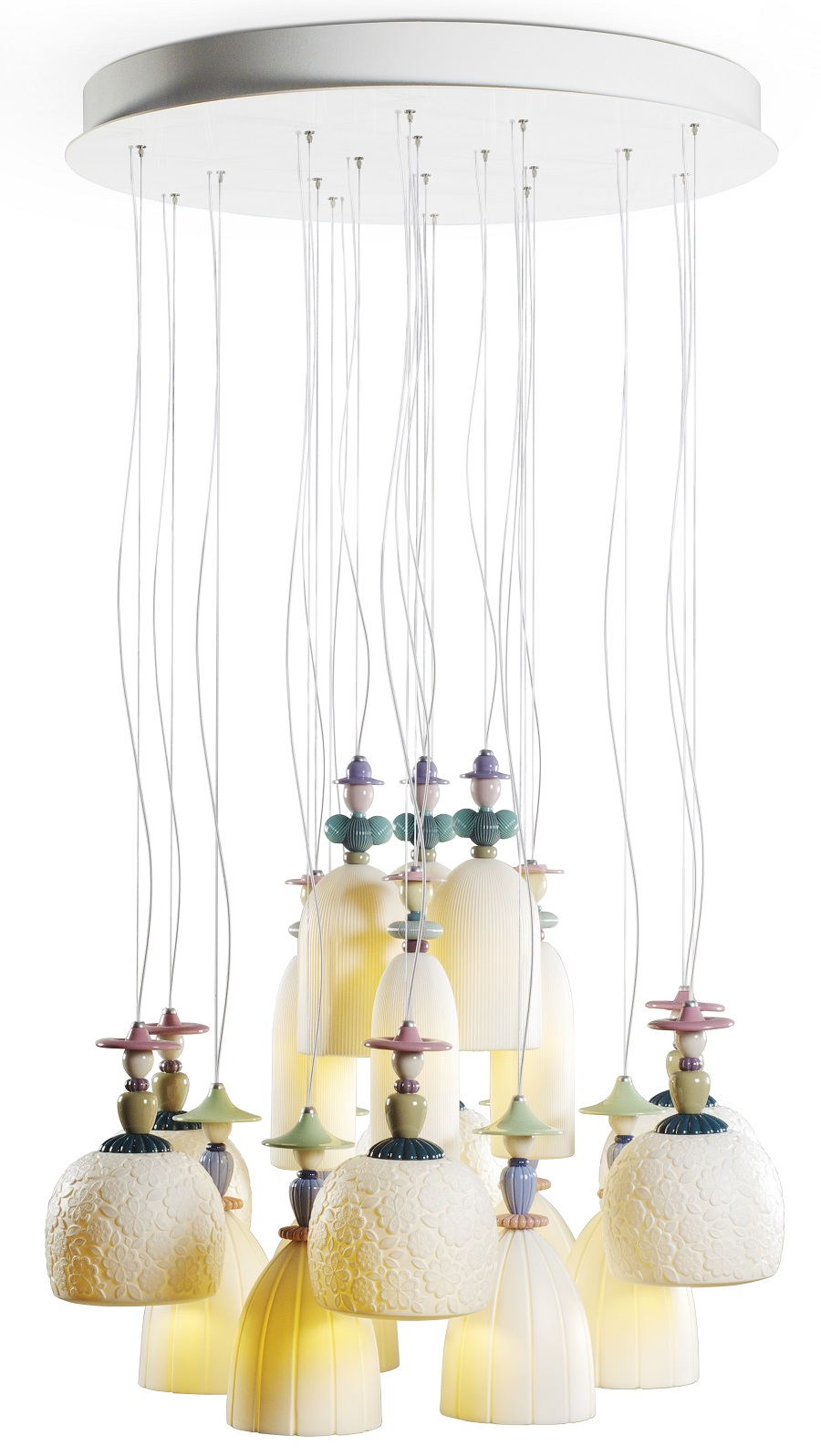 Lladro Mademoiselle lighting