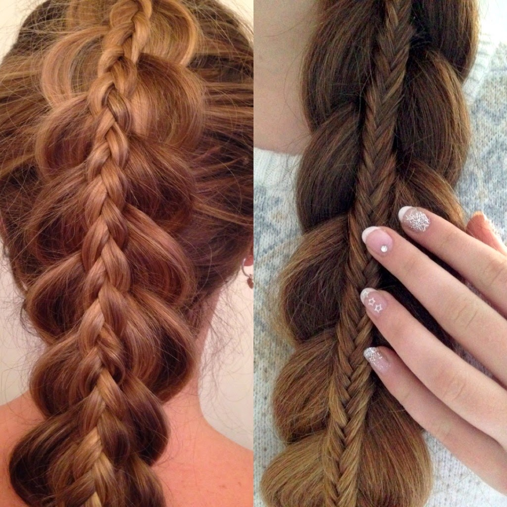 Hair styles by liberty stacked braids - Peinados faciles paso a paso ...