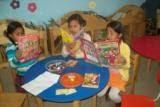 Lectura en la sala infantil