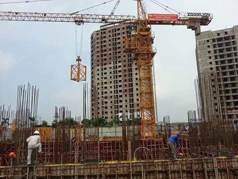 Tiến độ thi công xây dựng chung cư ct3 tây nam linh đàm