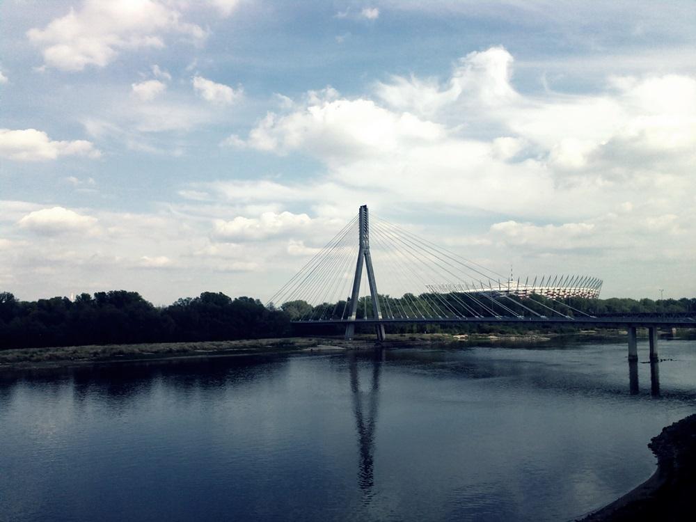 Most Świętokrzyski, Stadion Narodowy, Warszawa