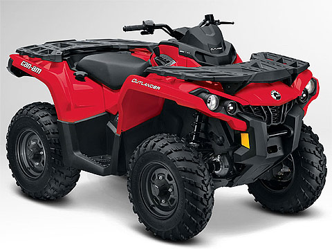 2013 Can-Am Outlander 400 ATV pictures. 480x360 pixels