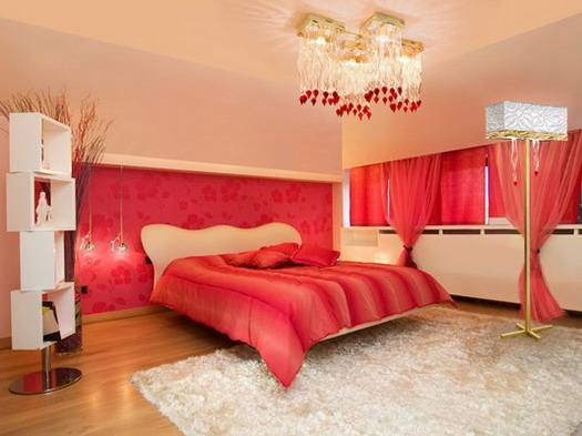 red touch bedroom ideas fantastic creative mind luxury home interior