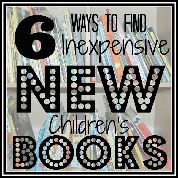 6 Ways to Find Inexpensive New Children's Books from Cutting Tiny Bites