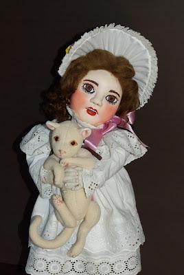 ADdoll_Annet_4 Аннет авторская текстильная шарнирная кукла Алёны Дороховой