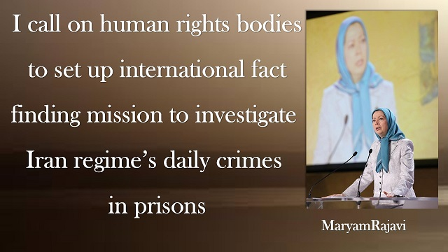 Iran-Maryam Rajavi message call to stand up to the stepped-up security measures by the fearful mullahs.