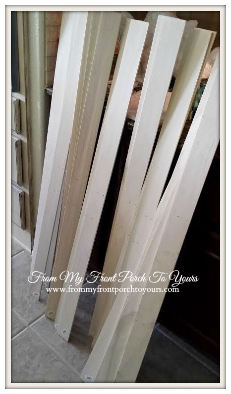 DIY Wainscoting Crossbuck Barn Door