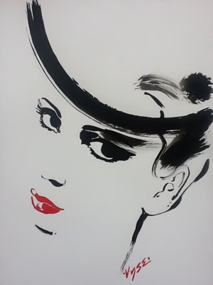 Fashion Illustration of me by Richard Vyse
