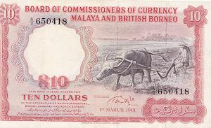 10 dollar 1961