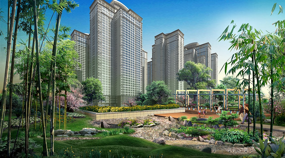 Tiện ích cây xanh trong chung cư Goldmark city