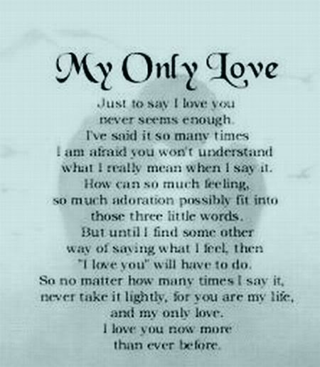 Love Poems, Romantic Letters, Quotes, Stories and more