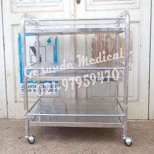Trolley Instrumen Stainless Steel