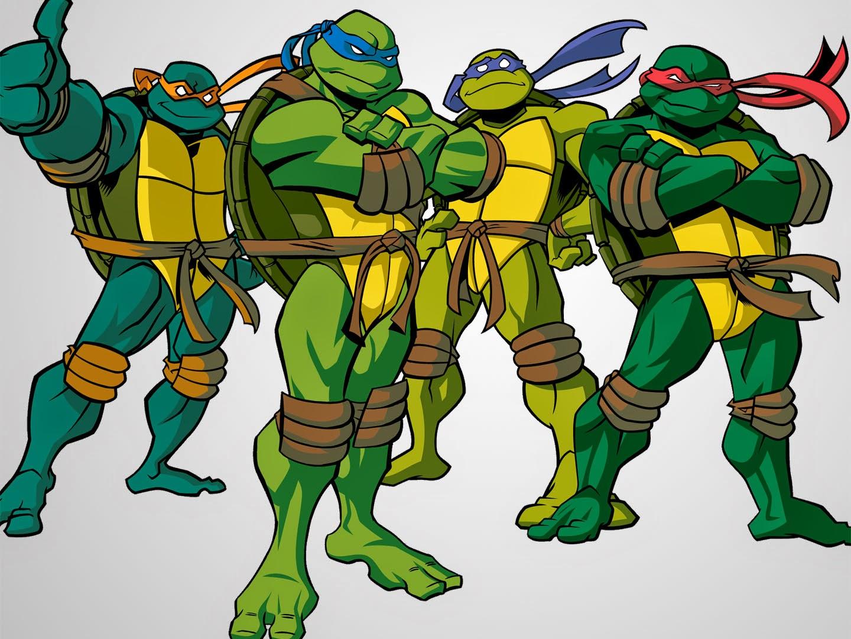 Ninja turtles cartoon