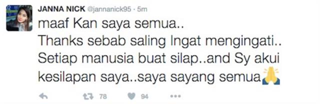 PANAS! Janna Nick Dikritik Netizen Hina Peristiwa MH370