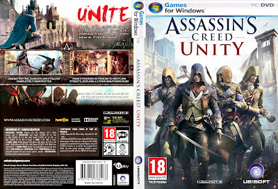 Jogo Assassin's Creed Unity RELOADED PC DVD Capa