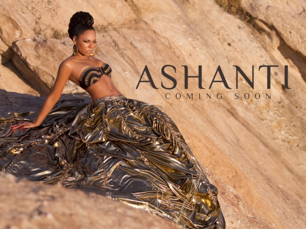 Ashanti's New Promo Photoshoot