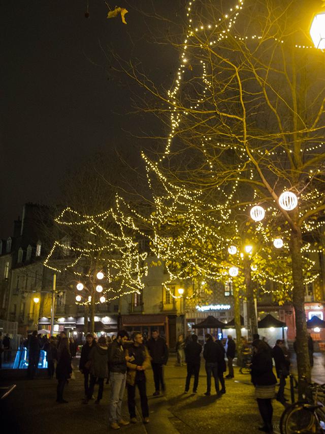 blog Rennes la paillette décorations Noel guirlandes lumineuses sainte anne