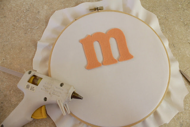 Learn how to blanket stitch with a cute project!  Step 3