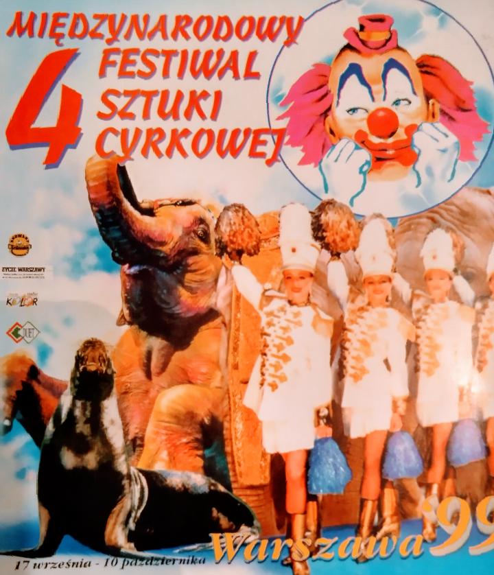 Archiwalne programy polskich cyrków