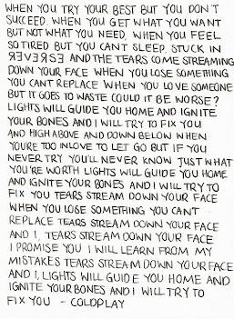 Fix you.