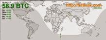 наблюдение за мировыми потоками BTC в режиме реального времени