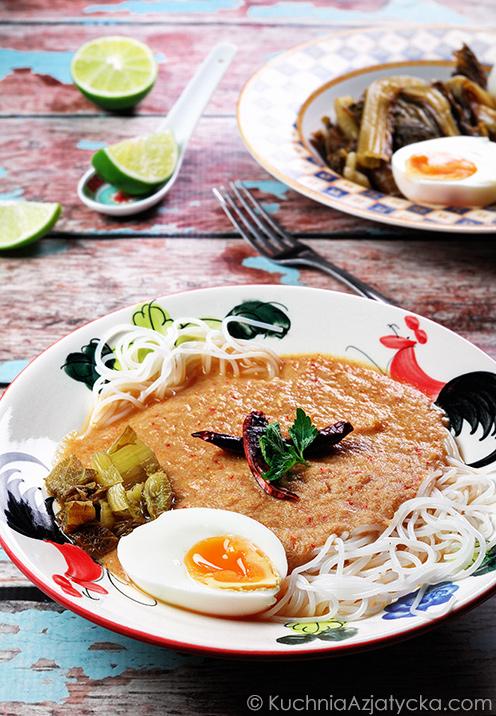 Rybne curry z dzikiego imbiru © KuchniaAzjatycka.com