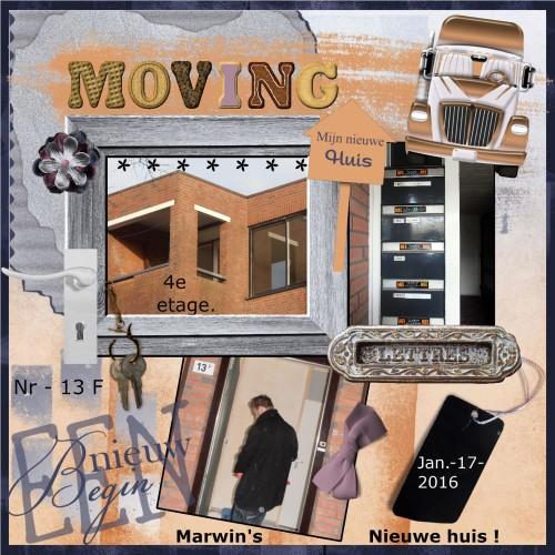Lo 1 - Maart 2016 - Marwin's nieuwe huis.