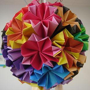 Origami tem origem japonesa