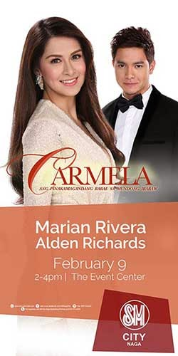 Marian Rivera and Alden Richards in Bicol