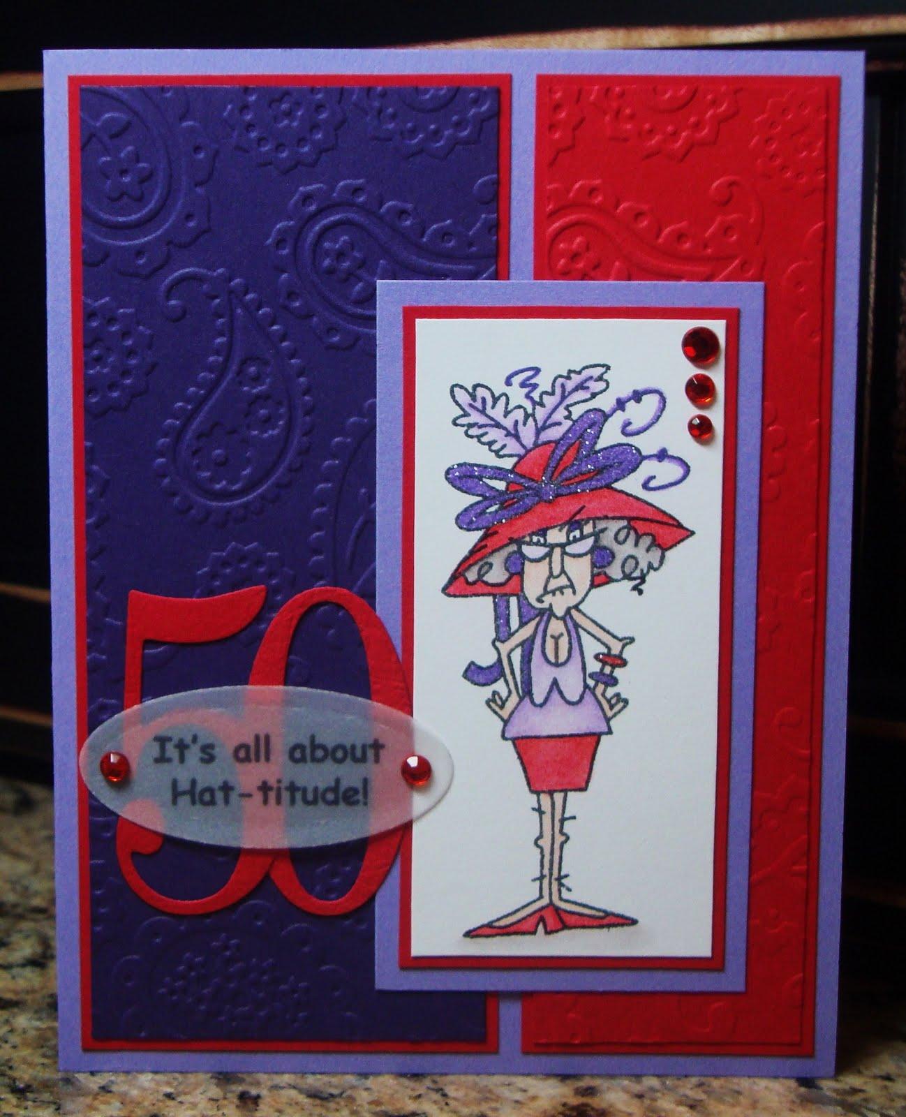 Red Hat Society 50th Birthday