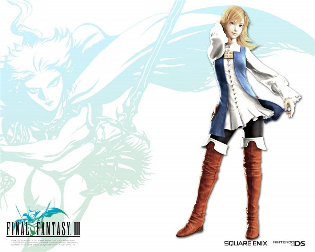 Final Fantasy HD & Widescreen Wallpaper 0.841696102136843