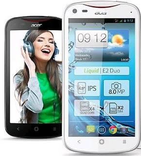 Acer Liquid E2 Smartphone Manual Pdf