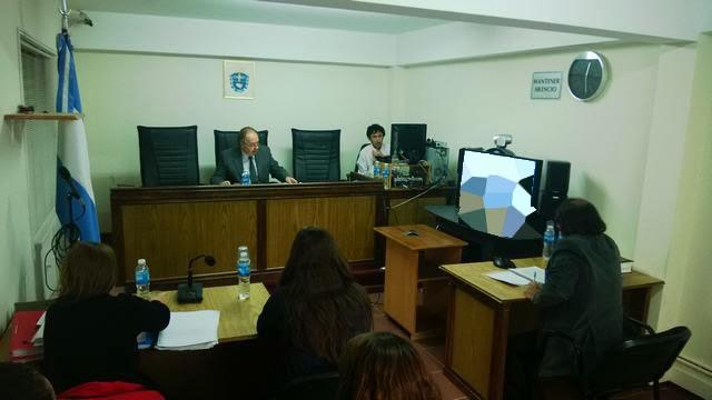 Oficina judicial sarmiento videoconferencia trelew for Oficina judicial