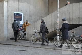 Kopenhagen, Bryggerampen - Treppe Kalvebod Brygge / Fisketorvet