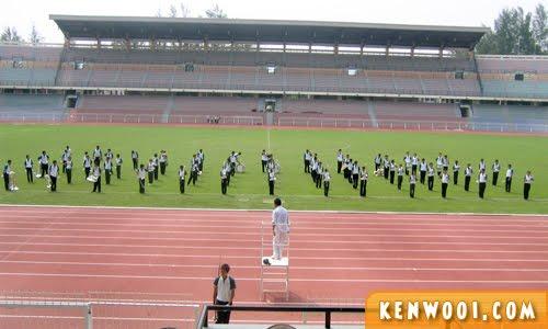 marching band stadium