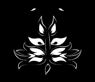 Firefly Icon 2 Eileen Gano Vector Black & White