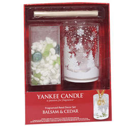 yankee candle diffuser gift set