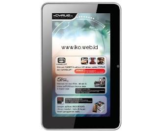 Cyrus AtomPad 16 GB, Spesifikasi Tablet Android 7 Inci Harga 800ribuan