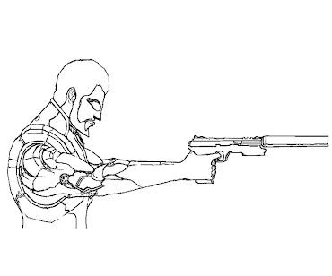 #2 Deus Ex Coloring Page