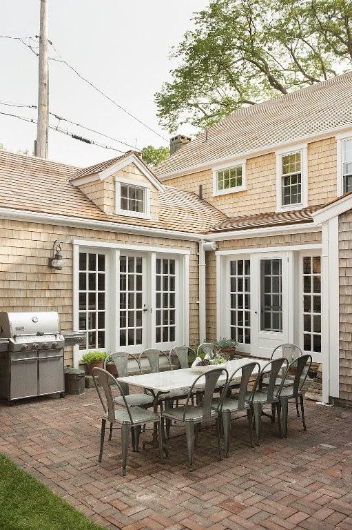 TRISHA TROUTZ: Nantucket Houses No 3
