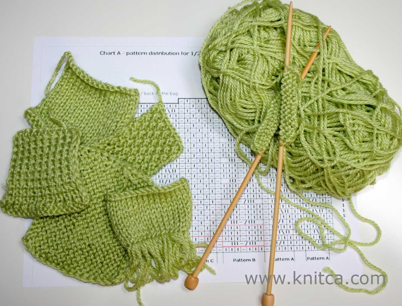 Knitting Pattern Says No Stitch : knitca: Stitch Pattern Library