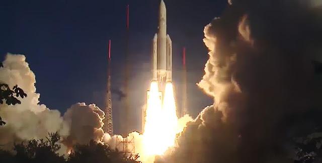 Ariane 5 launch. Credit: Arianespace